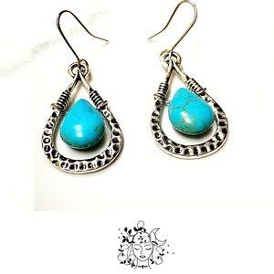Just In🎉Bohemian Turquoise Dangle Earrings